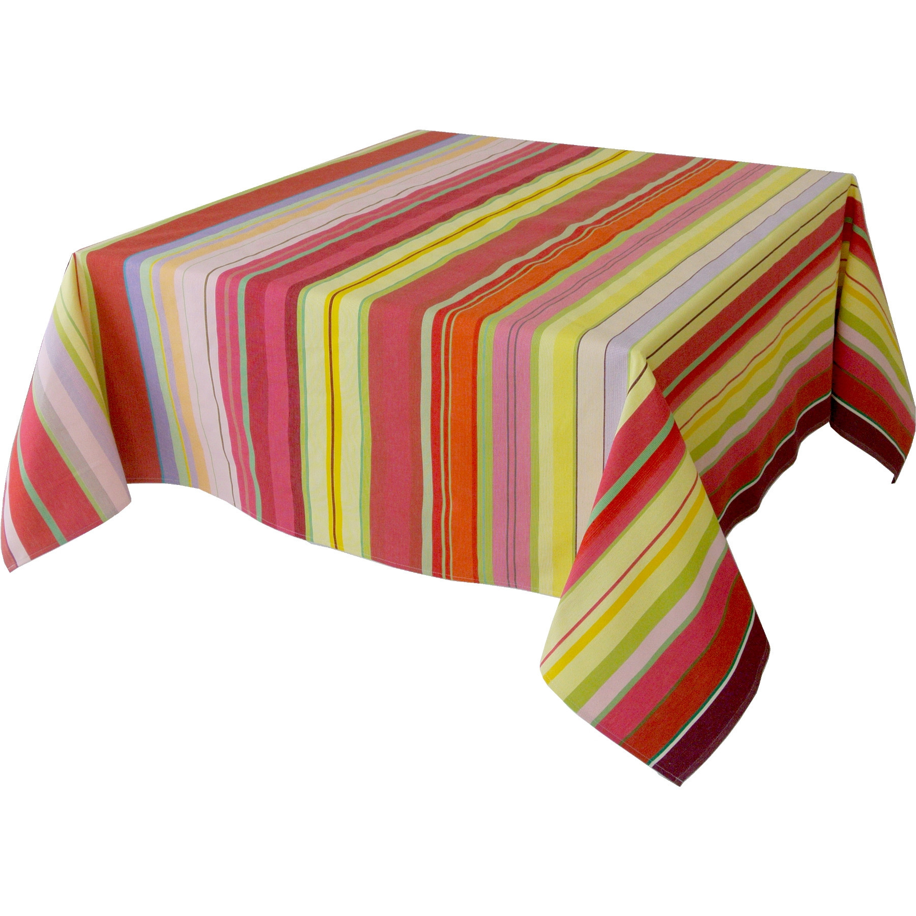 Nappe Rectangulaire Rayée Multicolore - Ceret