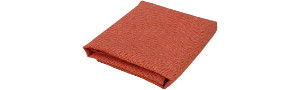 Serviette UNI Orange/Rouge