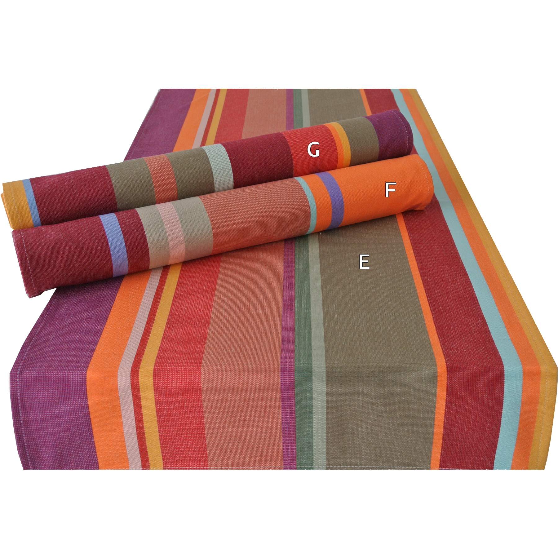 Table Linen Items Online - Table Runner Collioure Red
