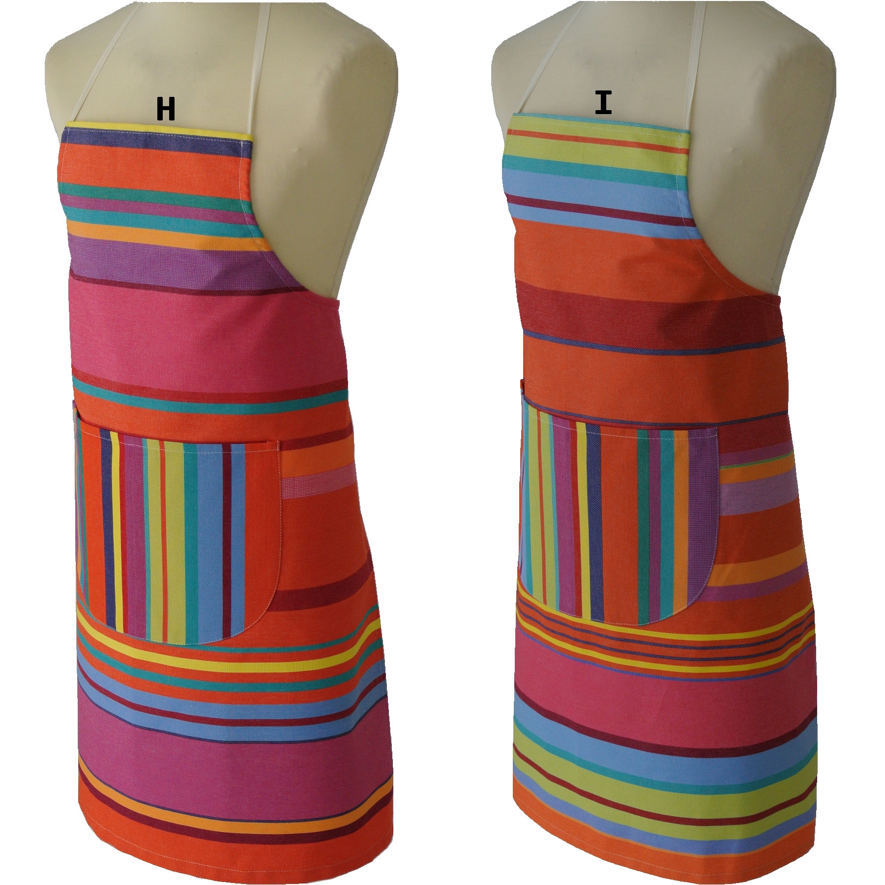Adjustable apron BONBON PLUME