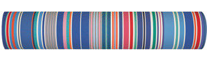 Multicolored Striped Fabrics - Cabanon