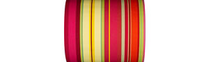 Multicolored Striped Fabrics - Ceret - 43cm