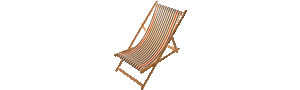 Deck Chair - Marin Écru