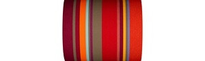 Multicolored Striped Fabrics - Collioure Rouge - 43cm